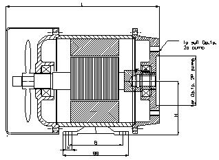 Hollow-shaft-foot-mounted-motors